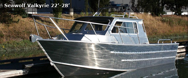 The valkyrie utility is a great day trip fishing boat with for Aluminum boat with cabin for sale